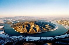 The Bend of Danube in winter - Dunakanyar télen Danube River, Central Europe, Budapest Hungary, Romania, Country, World, Bucket, Travel, Outdoor