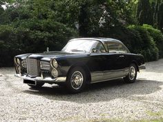 Delivered new to Belgium,1957 Facel Vega FV3 Coupé Chassis no. FV3/57-202 Engine no. TY3-154689