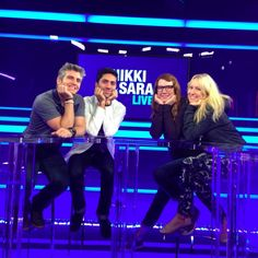 Max and Nev on Nikki & Sara Live. Catfish The Tv Show, Out Loud, Joseph, Movie Tv, Tv Shows, Concert, Boys, People, Live