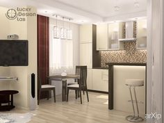 Уютное местечко #interiordesign #apartment #house #modern #30_50m2 #studio #atelier