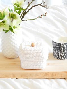 diy une boite au crochet rigide 5 Box Patterns, Crochet Patterns, Diy And Crafts, Arts And Crafts, Crochet Box, Crochet Decoration, Diy Interior, Crochet Projects, Creations