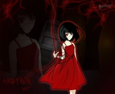 do you remember the drawing that Mei was doing? well, i inspired me in that and supposing that the model of the drawing was her twin sister Fujioka Misa. Another - Fujioka Misaki no tenshi Another Misaki Mei, Yandere Girl, Another Anime, T Art, Great Stories, Anime Shows, Me Me Me Anime, Girl Photos, Anime Characters