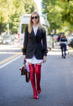 Milan Fashion Week: un street style lleno de color