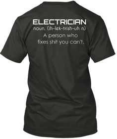 Limited Edition - ELECTRICIAN