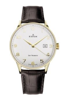 Edox Les Vauberts Date elegante Herrenuhr 8mm flach 70172 37JA ABD - http://uhr.haus/edox/edox-les-vauberts-date-elegante-herrenuhr-8mm-abd