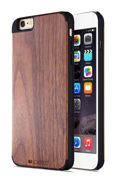 Amazon.com: iPhone 6 Plus Case, Walnut / Black - iCASEIT [Non-Slip] [Exact-Fit] Unique iPhone 6 Plus Case Slim [Fit Series] [Thin Fit] Premium Non Slip for iPhone 6 Plus (5.5 Display) - Walnut / Black: Cell Phones & Accessories
