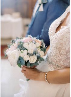 #wedding #bridalbouquet #peonies #kefalonia My Wedding Planner, Beautiful One, Our Wedding Day, Buttonholes, Event Styling, Amazing Flowers, Peonies, Bouquet, Bride