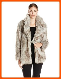 296b14de4c45 Betsey Johnson Women s Faux Fur Coat
