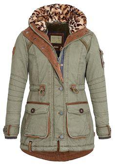 Naketano Women's Jacket Merciless (XS, Desert Green)
