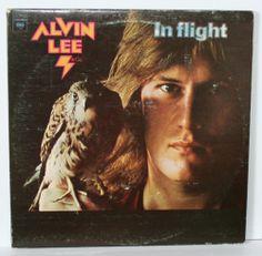 Lee. Alvin - In Flight - 2 lp records - Gatefold cover