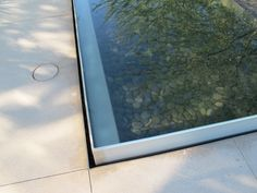 Nice pool detail. Sunnylands Annenberg Center by Office of James Burnell.