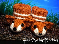 What does the fox say? Baby Booties! Cover_small2