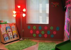 classroom reading nook