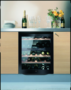 Miele 24 Inch Undercounter Dual-Zone Wine Storage with Capacity, 5 Storage Shelves, Active Charcoal Filter, Alarm and LED Lighting System Wine Refrigerator, Wine Fridge, Wine Storage, Storage Shelves, Wine Temperature, Best Wine Coolers, Wine Cabinets, Italian Wine, Kitchen Sets