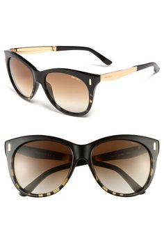 Jimmy Choo 'Ally' 56mm Retro Sunglasses available at #Nordstrom