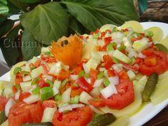 Cuinant: Ensalada de patata, verduras y hortalizas.