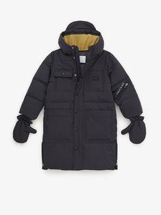 casaco quente capa impermeável neve jaqueta zara preta feminina frio