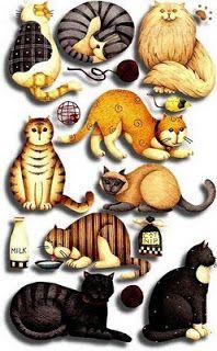 Laminas decoupage: Animales