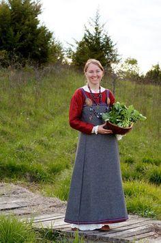 950's Swedish Viking Dress Ensemble by HeddlesandTreadles on Etsy