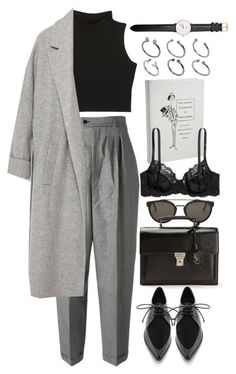 """""""Untitled #7954"""" by nikka-phillips ❤ liked on Polyvore featuring Chanel, H&M, RetroSuperFuture, Yves Saint Laurent, Zara, TIBI, Daniel Wellington and ASOS"""