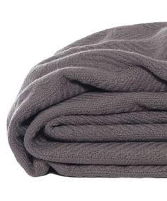 Look what I found on #zulily! Mushroom Herringbone Blanket by Eddie Bauer #zulilyfinds