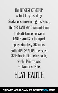 Flat Earth ~ PINNER:  Diameter measurement of 32 miles is Nautical Miles, which equal 36.8249 surface miles.