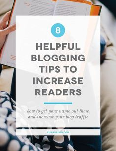 How to get your name out there and increase your blog traffic | try these blogging tips to grow your blog traffic and get more readers. A blogging tutorial to get noticed online for all blogging beginners.