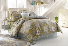 Organic Bedding with Pizzazz from Amy Butler