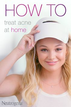 Get visible results in as little as 1 week. Neutrogena's Light Therapy Acne Mask harnesses the same clinically proven light therapy that dermatologists use. It's 100% UV free, chemical free and FDA cleared – so you can safely and effectively get healthier, clearer skin at home.