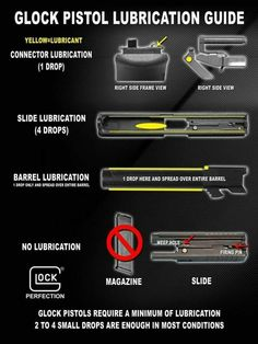 Understand the Glock trigger better and notice how much you progress using your Glock pistol! Understanding the Glock Trigger Glock Fire Machine, Rifles, Glock Guns, Glock 42, Glock 10mm, Cool Guns, Guns And Ammo, Self Defense, Bushcraft