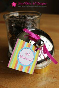 {Eid Mubarak} + a FREE Gift Tag printable!