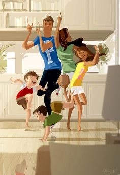 The dance off! by PascalCampion on DeviantArt