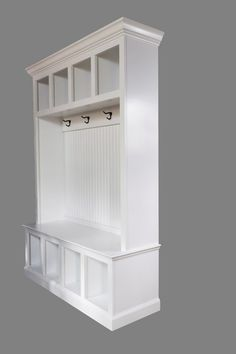 53 wide beadboard hall tree with 4 upper and lower storage cubbies entryway furniture amazing entryway furniture hall tree image