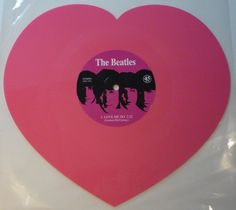 Online veilinghuis Catawiki: The Beatles - Love Me Do - Heartshaped PINK 10inch single -