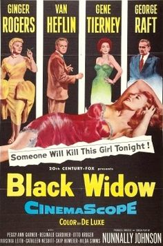 black widow 1954