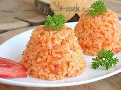 Domatesli Pirinç Pilavı Resimli Tarifi - Yemek Tarifleri