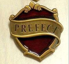 PRE-ORDER New Gryffindor Hogwarts Prefect Badge - Harry Potter Movie & Pottermore Version! Only at KingsCross!!
