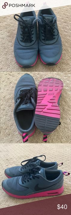 Women's Nike Air Max Thea Lots of life left on these! Very comfy. Just trying to get rid of shoes I don't wear. Worn in indoor gyms only. Nike Shoes Athletic Shoes