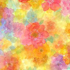 Sun Kissed - Cellophane Petals - Multi