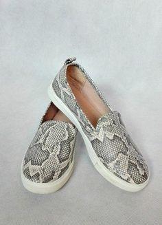 Kup mój przedmiot na #vintedpl http://www.vinted.pl/damskie-obuwie/trampki/12558185-buty-hm-skora-wezowa