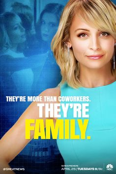 Did you hear the news? Nicole Richie is back on TV! #GreatNews premieres Tuesday, April 25 at 9/8c on NBC.