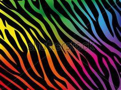 Duhové Pozadí Zebra Vektorové vektor z knihovny - 365PSD.com