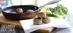 Chicken (& quinoa) Balls - One Handed Cooks