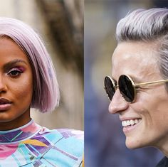 25 Beautiful Purple Hair Color Ideas 2020 — Purple Hair Dye Inspiration Pastel Purple Hair, Light Purple Hair, Hair Color Purple, Hair Dye Colors, Cool Hair Color, Dark Hair, Purple Balayage, Fresh Hair, Mermaid Hair