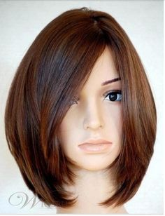 100% unprocessed Brazilian virgin remy human hair glossy soft Bob hairstyle front lace &full lace wig free shipping $128.00 - 295.00