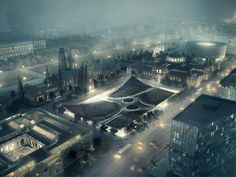 BIG Reveals 20-Year Restoration Plan for Washington DC's Smithsonian Campus