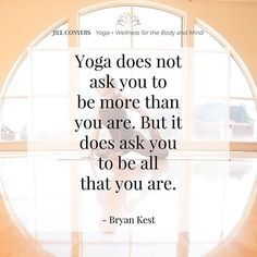 Yoga Flow, Yoga Meditation, Bryan Kest, Yoga Fitness, Yoga Thoughts, Brene Brown Quotes, Improve Mental Health, Types Of Yoga, Yoga Quotes
