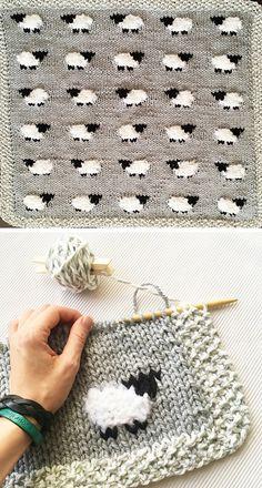 Easy Knitting Patterns, Knitting Stitches, Baby Patterns, Free Knitting, Knitting Projects, Baby Knitting, Crochet Projects, Free Crochet, Crochet Patterns