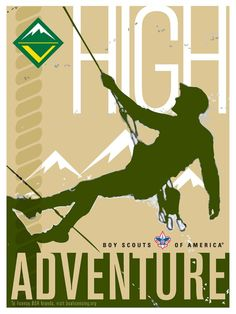 Venturing High Adventure Poster  Created for the 2009 Licensing International Expo.