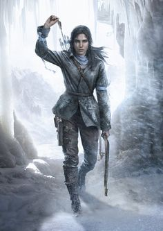 Tomb Raider Game, Lara Croft, Fan Art, Cosplay Rise of the Tomb Raider Poster